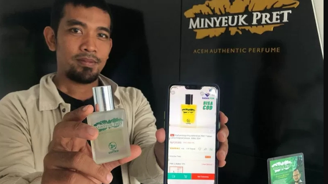 Cerita Pemuda Aceh Usaha Parfum Aroma Kopi hingga Ekspor ke Amerika Serikat (77706)