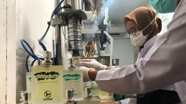 Cerita Pemuda Aceh Usaha Parfum Aroma Kopi hingga Ekspor ke Amerika Serikat (77707)