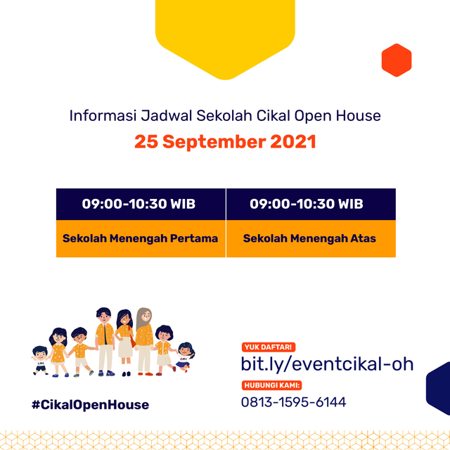 Catat Tanggalnya! Open House Sekolah Cikal Serentak 24-25 September 2021 (1020285)