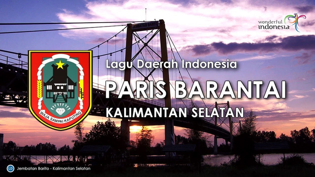 Lirik Lagu dan Chord Paris Barantai - Radja Banjar (1223826)