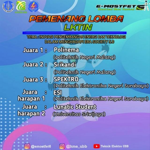 Mahasiswa Polinema Raih 2 Juara Sekaligus di Lomba Karya Tulis Ilmiah Nasional (248049)