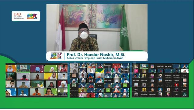 Ketum PP Muhammadiyah: Mahasiswa Harus Miliki Jiwa Jujur, Amanah, dan Sosial (218777)