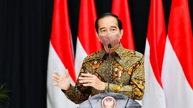 Jokowi Ajak Perbankan Kucurkan Kredit ke Pelaku Usaha (12991)