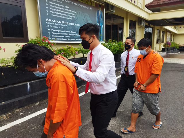 Polisi Tangkap Sindikat Surat Swab Palsu di Sumsel (25807)