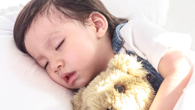 Penyebab Anak Balita Mendengkur saat Tidur (150604)