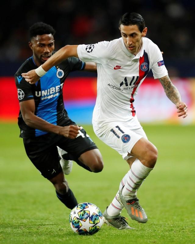 Head to Head Club Brugge vs PSG di Liga Champions (144591)