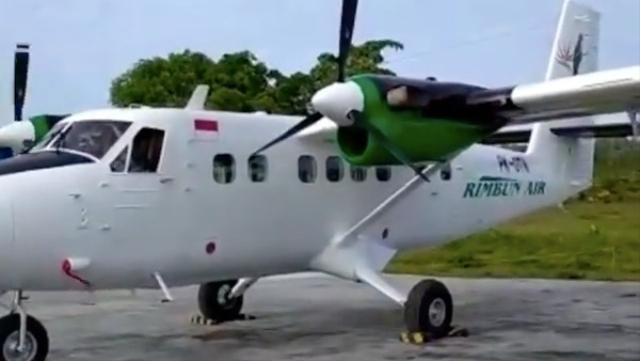 Kronologi Hilangnya Pesawat Kargo Rimbun Air di Intan Jaya Papua (13318)