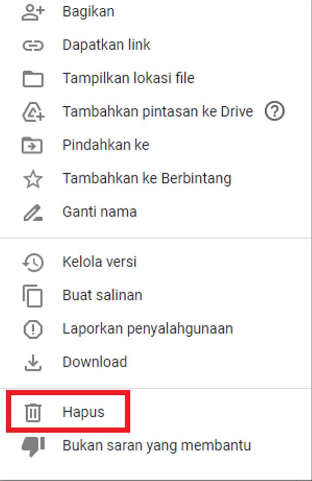 Cara Menghapus File di Google Drive, Tinggal Ikuti Langkah Ini (852267)