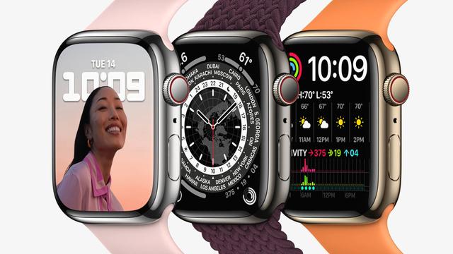 Apple Watch 7 Rilis, Smartwatch Layar Lega Punya Keyboard (1023760)