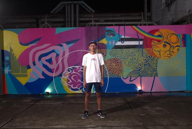 Karya Mural Puzzle Jakarta-Singapura, Bagaimana Menyatukannya? (10895)