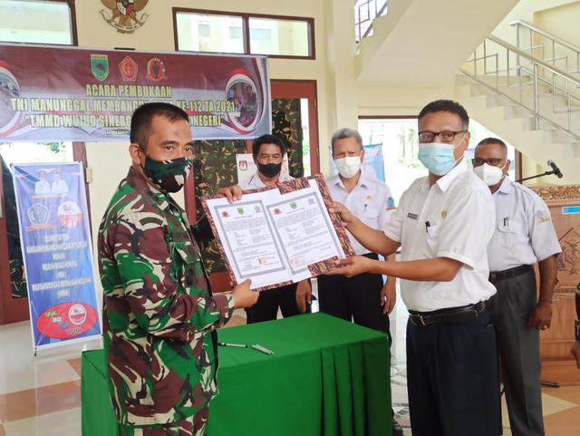 TMMD di Sorong Selatan: TNI Bangun Jalan dan Rumah untuk Warga (20088)