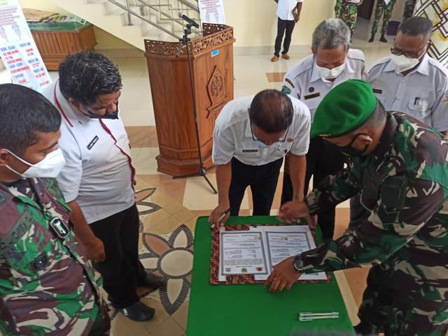 TMMD di Sorong Selatan: TNI Bangun Jalan dan Rumah untuk Warga (20090)