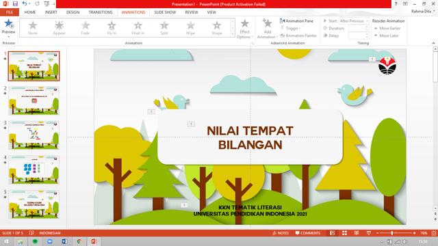 KKN UPI: Video Pembelajaran Sebagai Alternatif Penguatan Literasi Numerasi (10469)