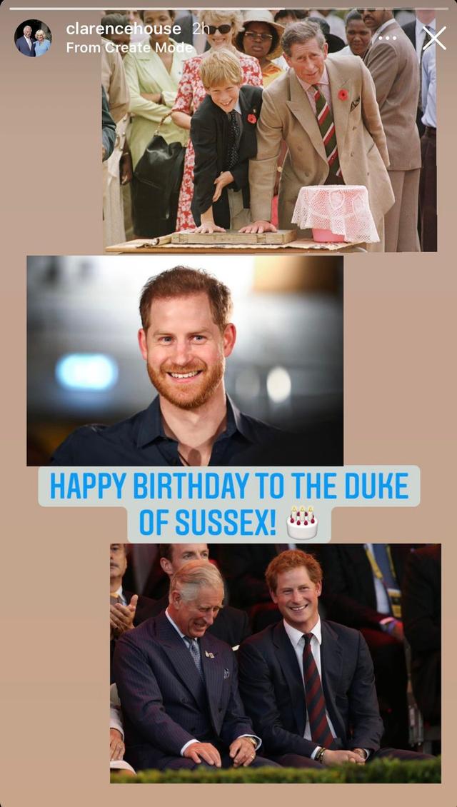 Pangeran Harry Ultah ke-37, Keluarga Kerajaan Inggris Beri Ucapan di IG Story (54695)