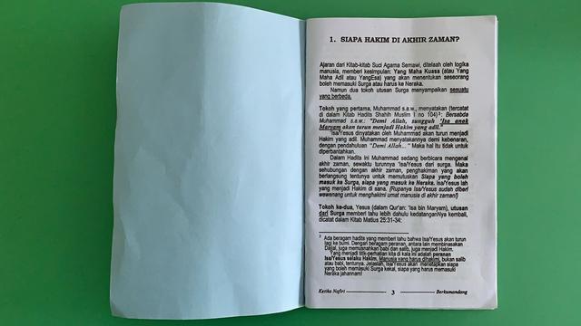OTK Sebar Buku dan Selebaran Aliran Sesat ke Pedagang di Aceh Barat (75591)