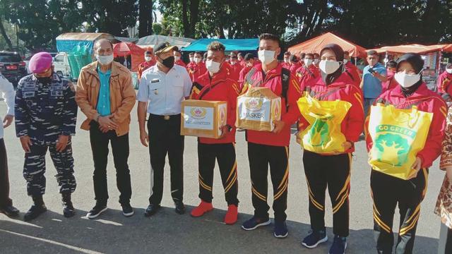 Sumbar Berangkatkan 188 Atlet untuk PON XX Papua, Targetkan 16 Medali Emas (148709)