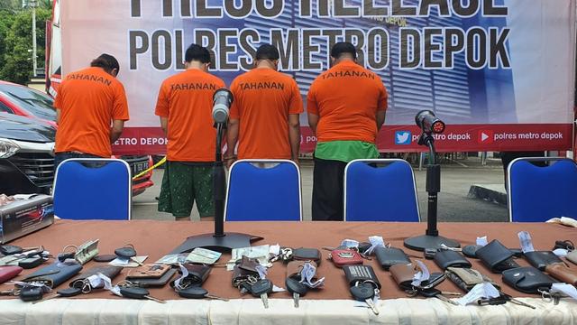 Polisi Buru Penadah Kasus Penggelapan 40 Mobil Rental di Depok (1243252)