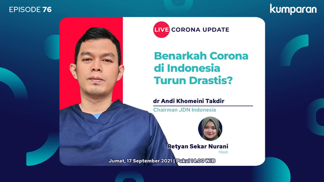 Live Corona Update: Benarkah Corona di Indonesia Turun Drastis? (999109)