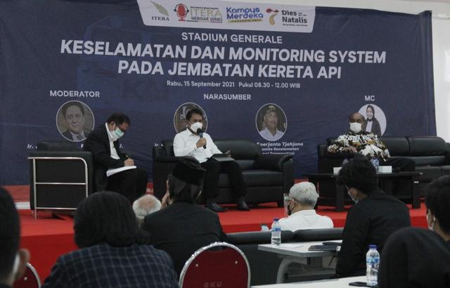 Itera, BPPT dan KNKT Bahas Keselamatan dan Monitoring System Jembatan Kereta Api (803698)