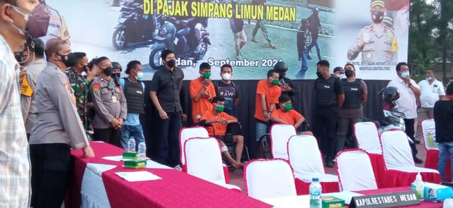 Polisi Tangkap 5 Perampok Toko Emas di Medan: Mereka Semua Terlatih (224791)