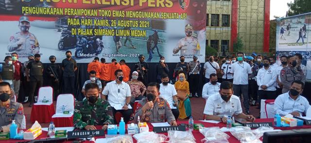Polisi Tangkap 5 Perampok Toko Emas di Medan: Mereka Semua Terlatih (224793)