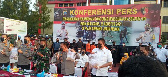 Polisi Tangkap 5 Perampok Toko Emas di Medan: Mereka Semua Terlatih (224790)