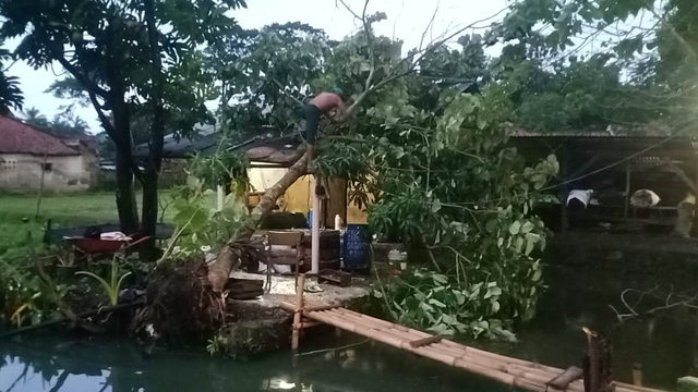 Puluhan Rumah Warga di Cianjur Rusak Akibat Diterjang Hujan dan Angin Kencang (149886)