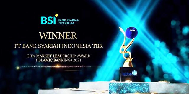 BSI Raih Penghargaan GIFA Market Leadership Award untuk Islamic Banking (614258)