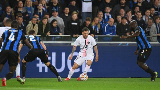 Debut Messi Bersama PSG di Liga Champions: Gagal Cetak Gol, Kena Kartu Kuning (109983)