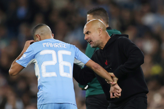 Pep Guardiola Marah ke Mahrez & Grealish saat Man City Jumpa RB Leipzig, Kenapa? (432730)