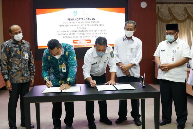 Sah! UMKM di Kepri Sudah Dapat Ajukan Pinjaman Tanpa Bunga ke Bank Riau-Kepri (50948)