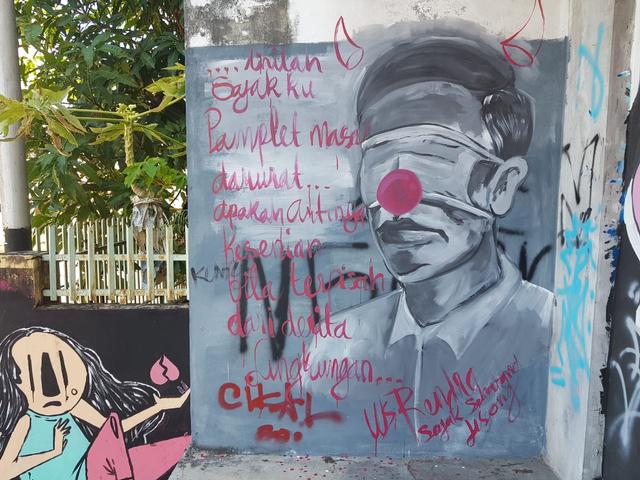 Polisi soal Mural Mirip Jokowi di Pangkalpinang: Tidak Ada Proses Hukum Apa pun (20527)