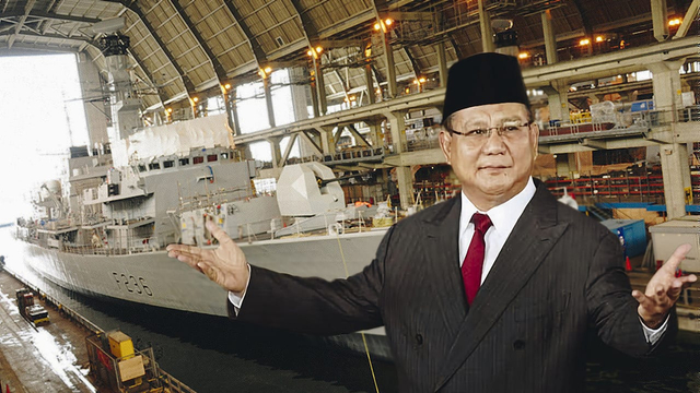 Prabowo Bawa Teknologi Kapal Perang Inggris, Antisipasi China di Natuna (228512)