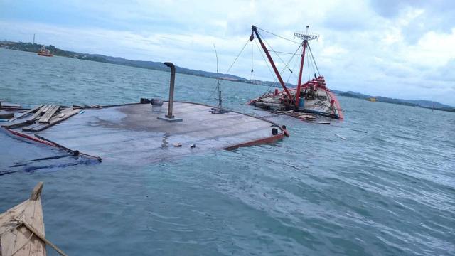 Kronologi Dua ABK Kapal Muatan Semen Hilang di Perairan Batuampar (145590)
