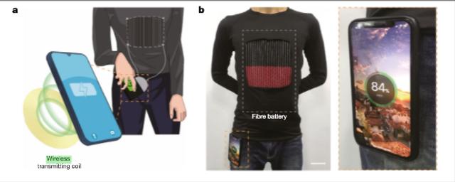 Anti-Lowbat, Ilmuwan Bikin Baju yang Bisa Cas HP (844078)