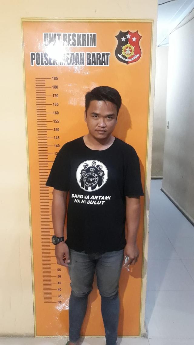 Tampang Dua Preman di Medan yang Pungli ke Pedagang dan Tantang Polisi