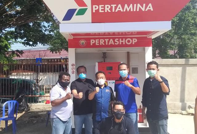 Pertashop Hadir Dukung PON XX Papua  (52682)