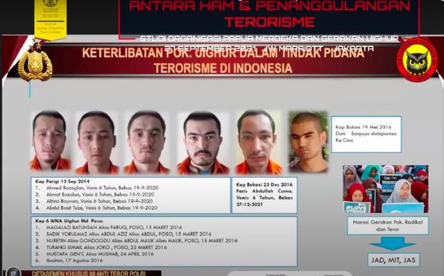 12 Orang Uighur Masuk Indonesia sebagai Teroris dan Coba Bertempur di Poso (3)