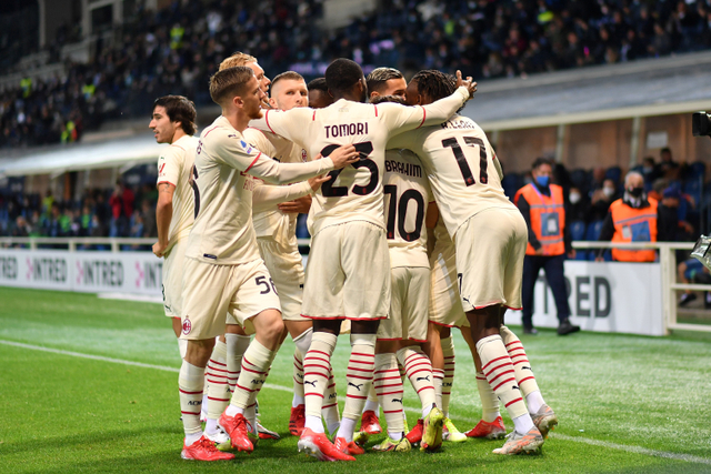 Hasil Liga Italia: Diawali Gol Kilat, AC Milan Iris Tipis Atalanta (2)