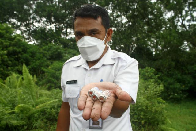 Heboh Limbah Medis Berserakan di Pinggir Jalan di Pontianak  (124682)