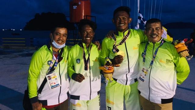 2 Bersaudara Sumbang Medali Emas dan Perak Pertama untuk Kepri di PON XX Papua (98771)