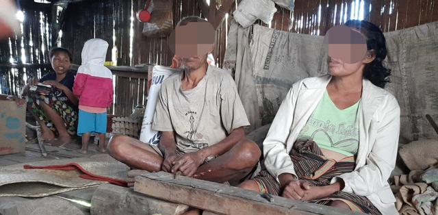 3 Bocah di Bawah Umur di Manggarai Rawat Ibunya yang ODGJ dan Bapak Tunanetra