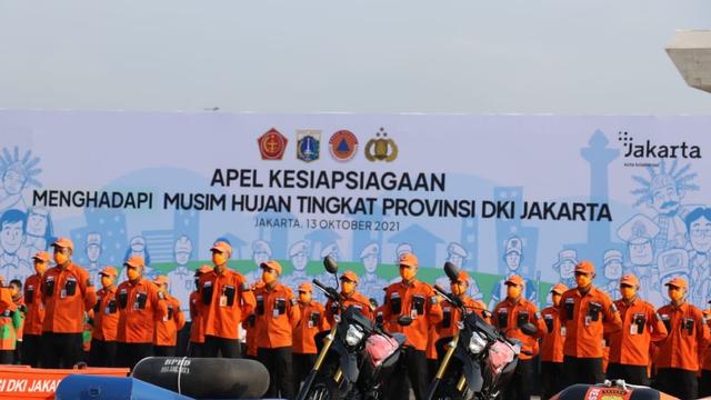 Anies Pimpin Apel Kesiapsiagaan Hadapi Banjir: Kami Siap Antisipasi (50558)