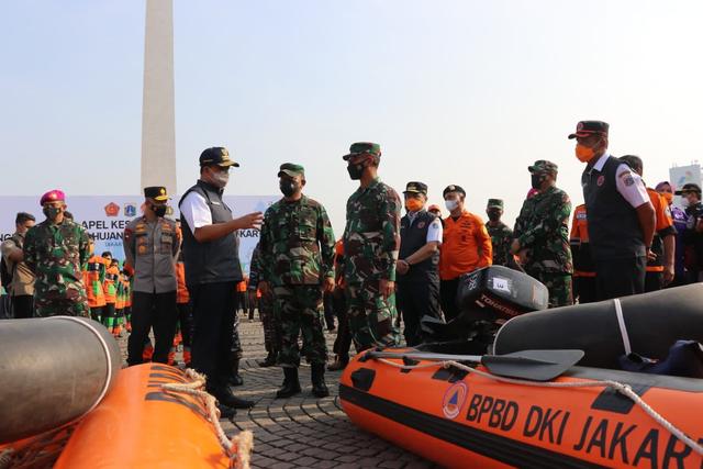 Anies Pimpin Apel Kesiapsiagaan Hadapi Banjir: Kami Siap Antisipasi (50557)