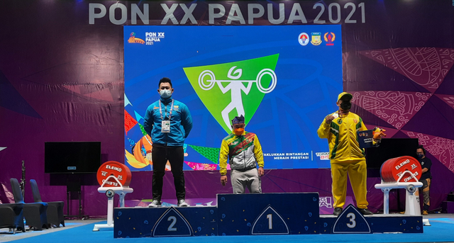 Cabor Angkat Berat, Lifter Jambi Raih Medali Perak di PON Papua (54177)