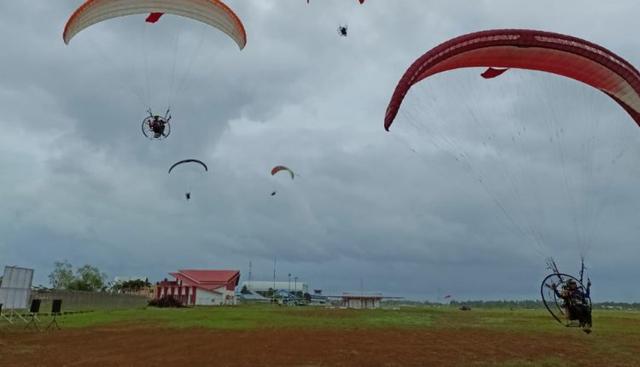 Atlet Paramotor Binaan Lanud Pangeran M Bun Yamin Raih Emas di PON XX Papua 2021 (47910)