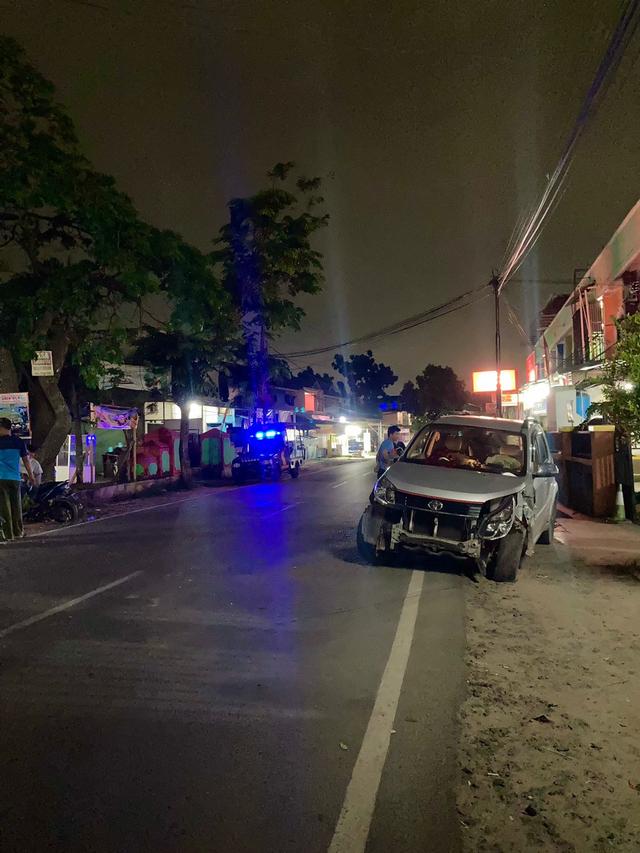 Sedang Terparkir, Mobil Milik Pedagang Nasi Goreng di Bandar Lampung Ditabrak (53480)