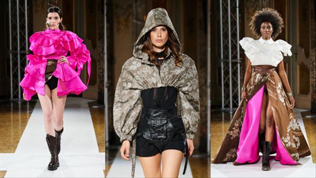Bikin Bangga! Batik Durian Lubuklinggau Tampil di Milan Fashion Week 2021 (710367)