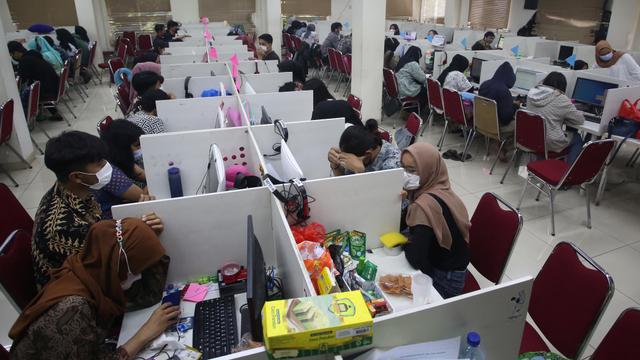 Meresahkan, Debt Collector Pinjol Ilegal Digerebek Polisi (50921)