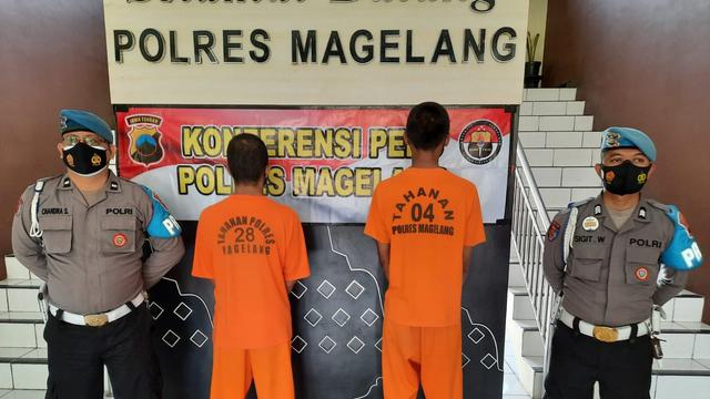 Polisi Amankan 3 Pelaku Pencurian dengan Kekerasan di Magelang (202773)